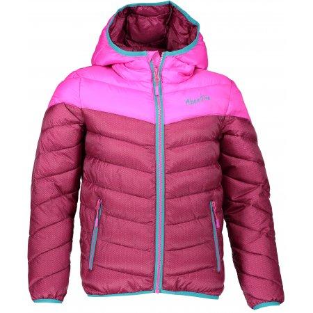Dětská zimní bunda ALPINE PRO BAROKKO 3 KJCM112 RŮŽOVÁ