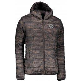 Pánská zimní oboustranná bunda ALPINE PRO HOPER MJCM326 ČERNÁ