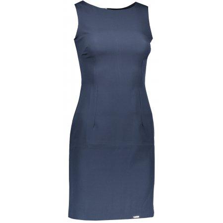 Dámské šaty NUMOCO 159-1 TMAVĚ MODRÁ