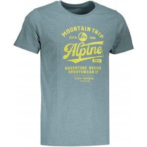 Pánské triko ALPINE PRO TIBERIO 6 MTSM310 ZELENÁ