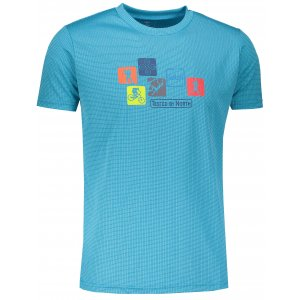 Pánské funkční triko s krátkým rukávem KILPI GIACINTO-M IM0110KI MODRÁ
