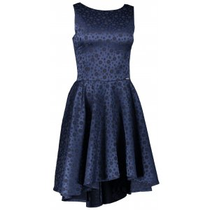 Dámské šaty NUMOCO 175-3 TMAVĚ MODRÁ