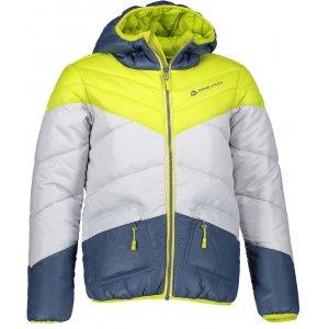 Dětská zimní bunda ALPINE PRO SOPHIO 2 KJCM104 ZELENÁ