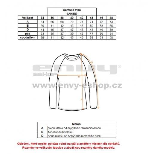 Dámské triko ALTISPORT SAKIRE ALLS18040 MELÍR