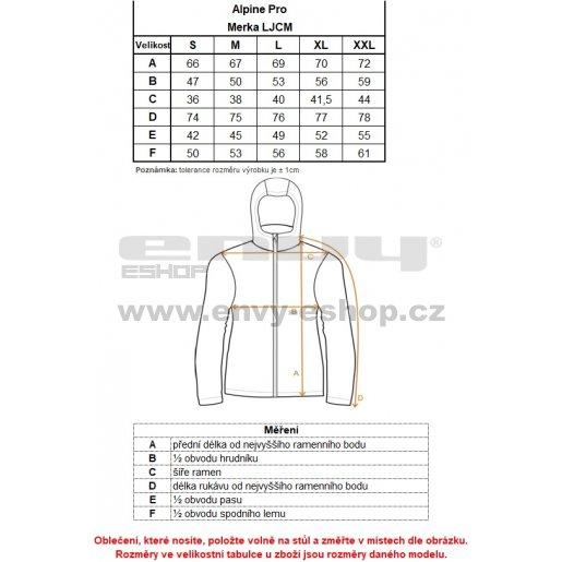 Dámská softshellová bunda ALPINE PRO MERKA LJCM317 ČERNÁ