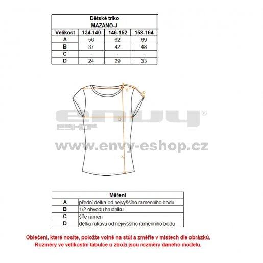 Chlapecké funkční triko ALTISPORT MAZANO-J ALJS18076 ČERNÁ