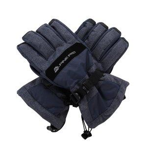 Zimní rukavice ALPINE PRO MIRON UGLM012 TMAVĚ MODRÁ