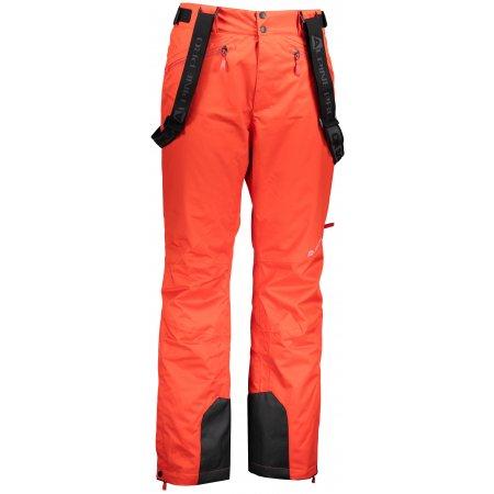 Pánské lyžařské kalhoty ALPINE PRO SANGO 6 MPAM312 ČERVENÁ
