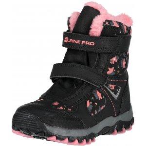 Dětské zimní boty ALPINE PRO WANO KBTM169 ČERNÁ
