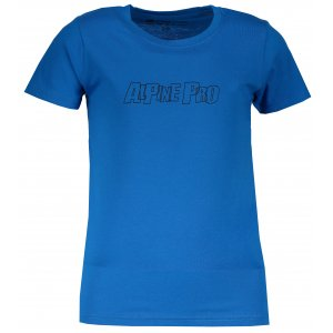 Dětské triko ALPINE PRO VONO KTSM170 MODRÁ