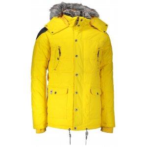 Pánská zimní bunda ALPINE PRO ICYB 4 MJCM284 ŽLUTÁ