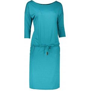 Dámské šaty NUMOCO A13-63 MODROZELENÁ