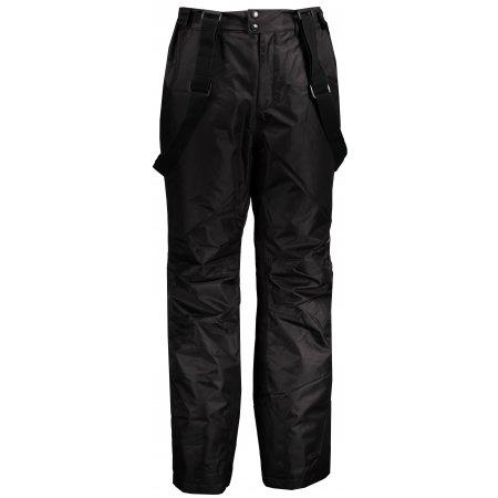 Pánské lyžařské kalhoty ALPINE PRO LOINEF MPAM349 ČERNÁ