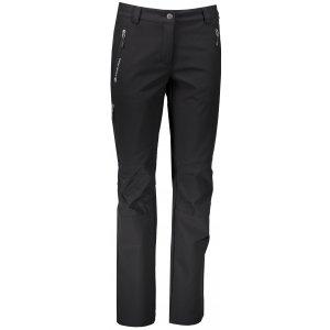 Dámské softshellové zateplené kalhoty ALPINE PRO MURIA 2 INS. LPAM133 ČERNÁ