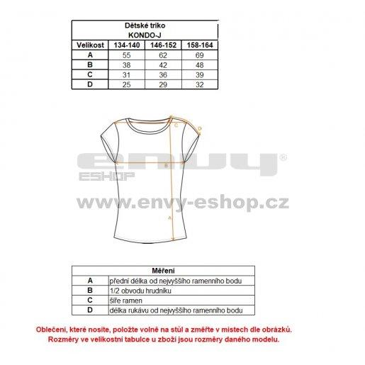 Chlapecké funkční triko ALTISPORT KONDO-J ALJS18075 MODRÁ