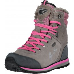 Dámské zimní boty ALPINE PRO XALINA LBTM143 TMAVĚ ŠEDÁ