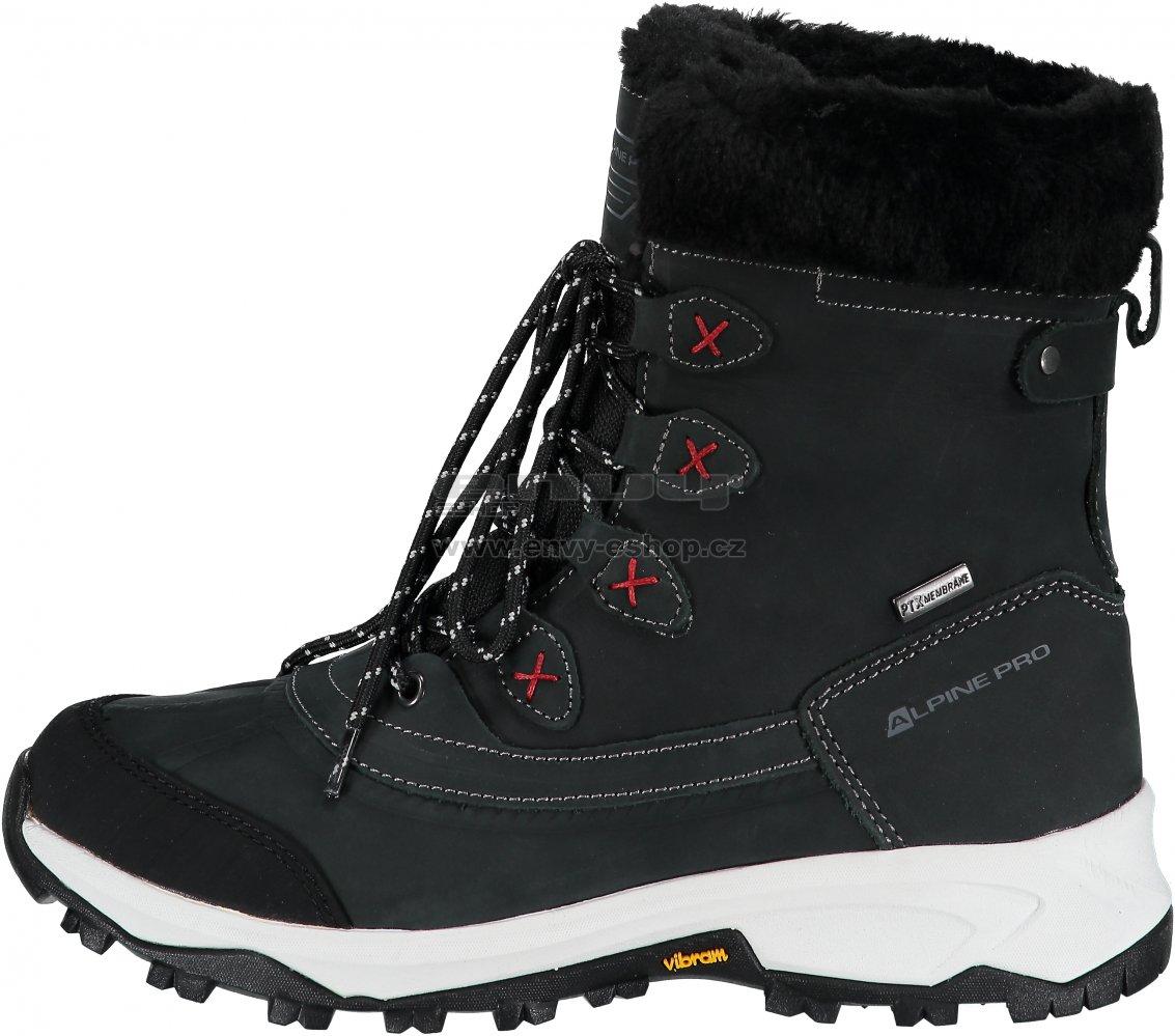 26471a82852 Dámské zimní boty ALPINE PRO ANAHITA LBTM181 ČERNÁ velikost  EU 36 ...