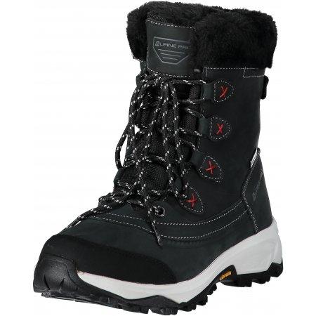 Dámské zimní boty ALPINE PRO ANAHITA LBTM181 ČERNÁ