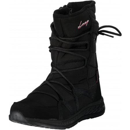 Dámské zimní boty LOAP ALTENA SBL18105 ČERNORŮŽOVÁ