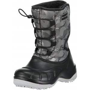 7a965b761eb Dětská zimní obuv ALPINE PRO AMARO KBTM175 TMAVĚ ŠEDÁ