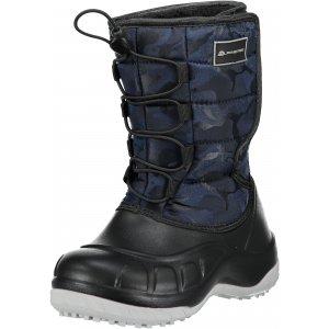 Dětská zimní obuv ALPINE PRO AMARO KBTM175 TMAVĚ MODRÁ