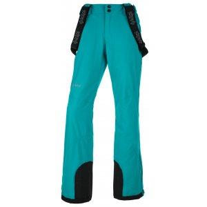 Dámské lyžařské kalhoty KILPI EUROPA-W JL0010KI TYRKYSOVÁ