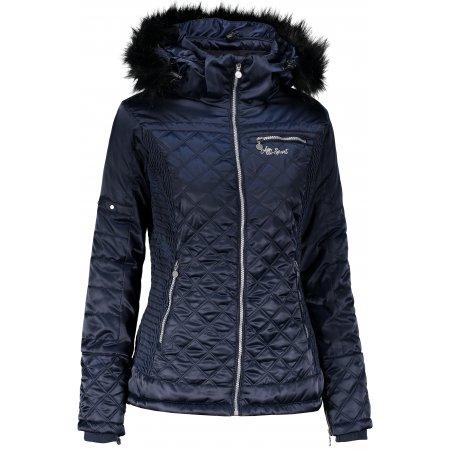 Dámská zimní bunda ALTISPORT MAROTEZA TMAVĚ MODRÁ