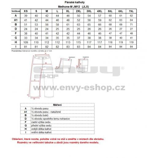 Pánské lyžařské kalhoty  KILPI METHONE-M JM0012KI TMAVĚ MODRÁ