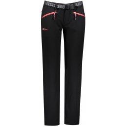 Dámské kalhoty ALTISPORT JAFARA ČERNORŮŽOVÁ
