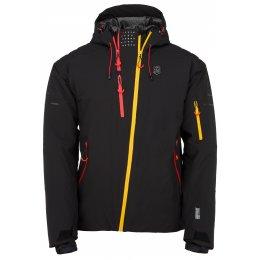 Pánská lyžařská bunda  KILPI ASIMETRIX-M JM0120KI ČERNÁ