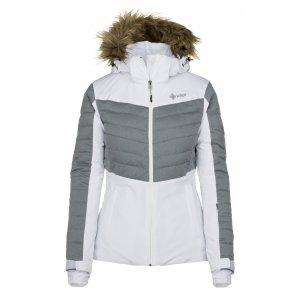 Dámská lyžařská bunda  KILPI BREDA-W JL0112KI BÍLÁ