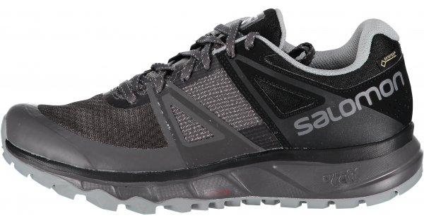 Pánské běžecké boty SALOMON TRAILSTER GTX L40488200 MAGNET BLACK QUARRY  velikost  EU 44 (UK 9 2737176da2
