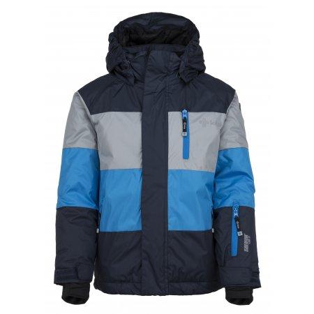 Chlapecká lyžařská bunda  KILPI ORMES-JB JJ0108KI TMAVĚ MODRÁ