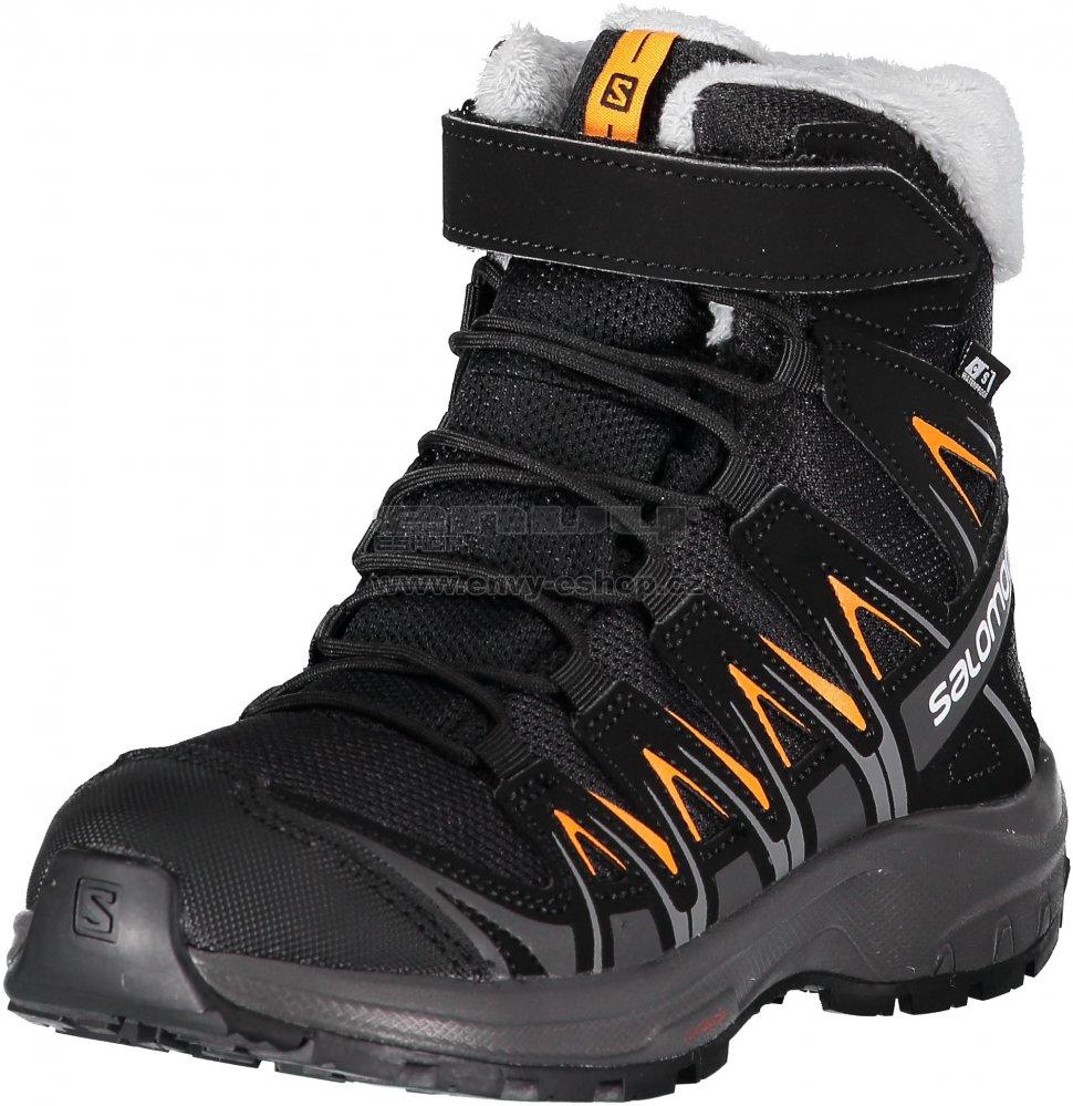 Dětské zimní boty SALOMON XA PRO 3D WINTER TS CSWP J L40651100 BLACK MAGNET  3255f44b7f