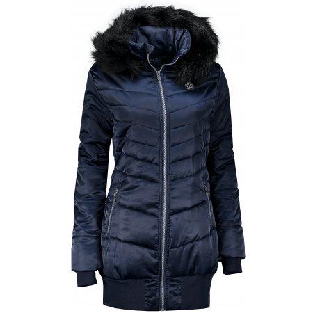 Dámský zimní kabát ALTISPORT SOLILA TMAVĚ MODRÁ
