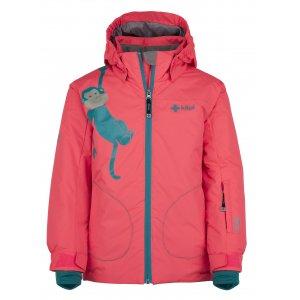 Dívčí lyžařská bunda  KILPI CINDY-JG JJ0373KI RŮŽOVÁ