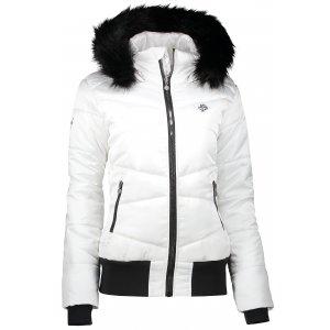 Dámská zimní bunda ALTISPORT TATRE BÍLÁ