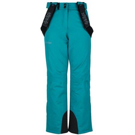 Dívčí lyžařské kalhoty  KILPI ELARE-JG JJ0023KI TYRKYSOVÁ