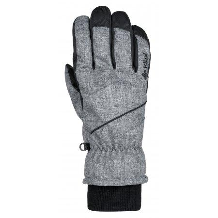 Lyžařské rukavice KILPI TATA-U JU0159KI ŠEDÁ