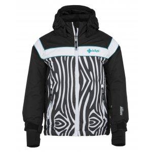 Dívčí lyžařská bunda  KILPI DELIS-JG JJ0066KI ČERNÁ