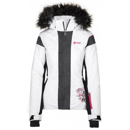 Dámská lyžařská bunda  KILPI DELIA-W JLX198KI BÍLÁ