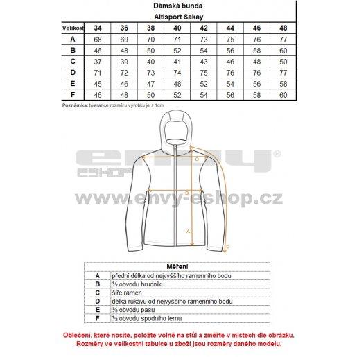 Dámská softshellová bunda ALTISPORT SAKAY ČERNÁ