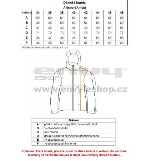 Dámská softshellová bunda ALTISPORT AMBIA RŮŽOVÁ