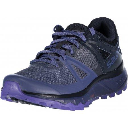 Dámské běžecké boty SALOMON TRAILSTER W L40611800 CROWN BLUE/NAVY BLAZER/PURPLE OPULENCE