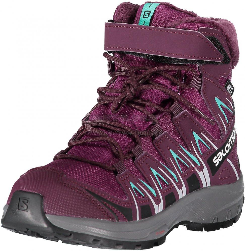 Dětské zimní boty SALOMON XA PRO 3D WINTER TS CSWP J L40651000 DARK  PURPLE POTENT b5407bd705