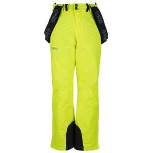 Chlapecké lyžařské kalhoty  KILPI MIMAS-JB JJ0011KI ŽLUTÁ
