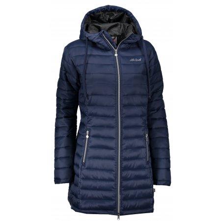 Dámský kabát ALTISPORT SAKA TMAVĚ MODRÁ