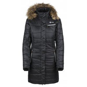 Dámský zimní kabát  KILPI BAARA-W JL0234KI ČERNÁ