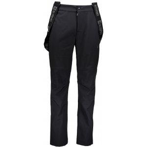 Pánské zimní softshellové kalhoty ALTISPORT SIVORY ČERNÁ