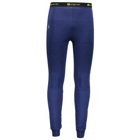 Pánské termo kalhoty ALTISPORT ADDO TMAVĚ MODRÁ